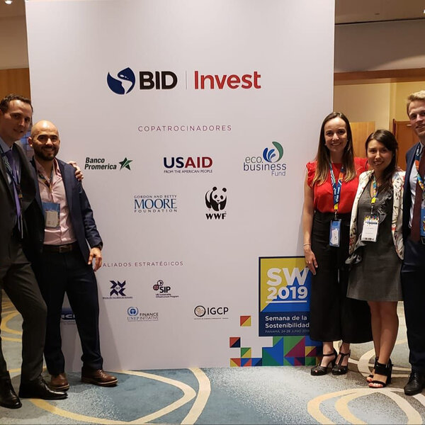 eco.business Development Facility co-sponsors Sustainability Week 2019 in Panama